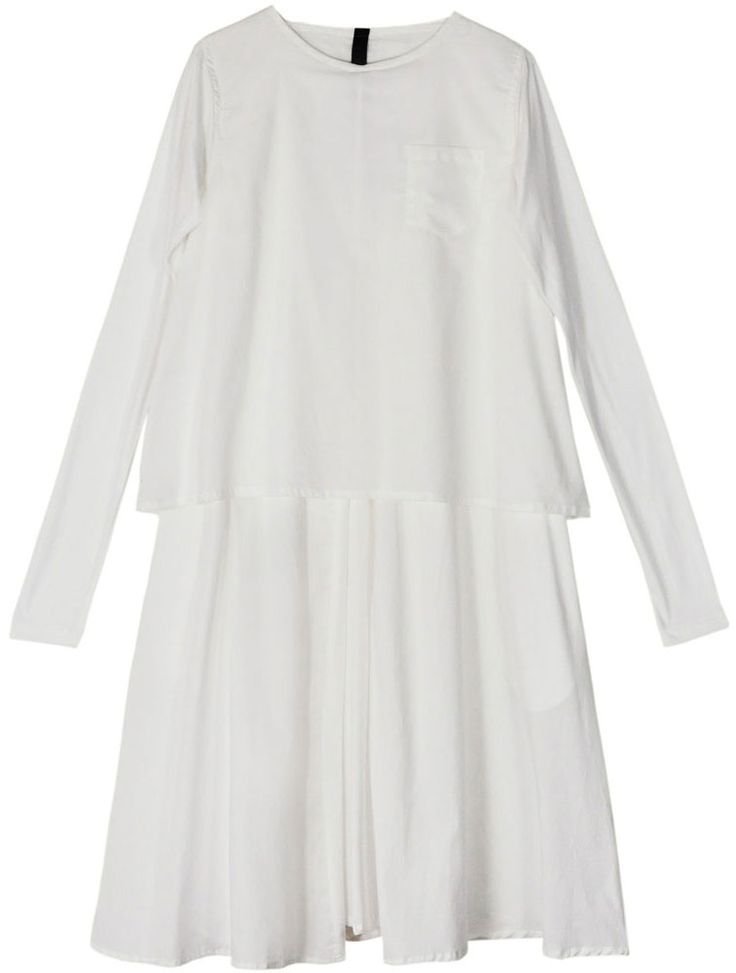 Kowtow White In the Shadows Dress