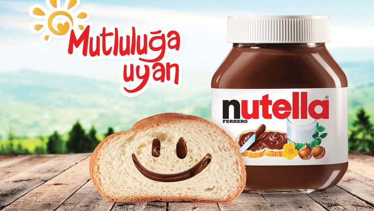 Nutella in Turkey, where most of the worldw Hazelnuts come from.