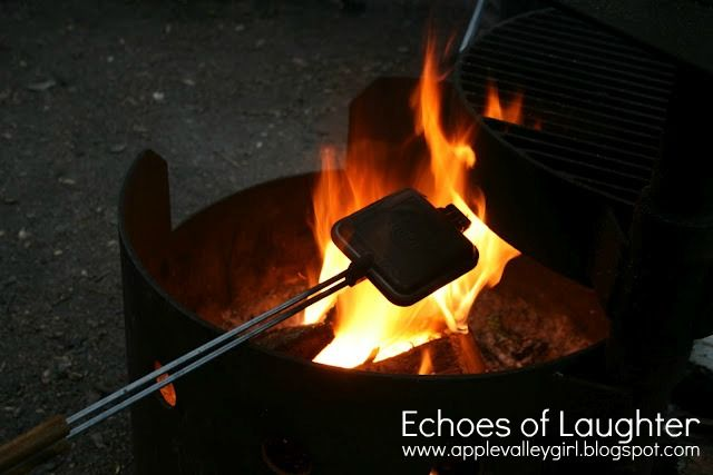 Echoes of Laughter: 11 Best Camping Tips & Recipes... incl for these grilled cheese makers