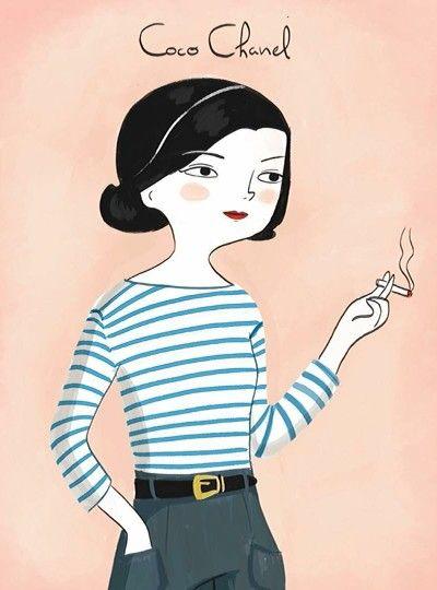 Coco Chanel @mariahesse