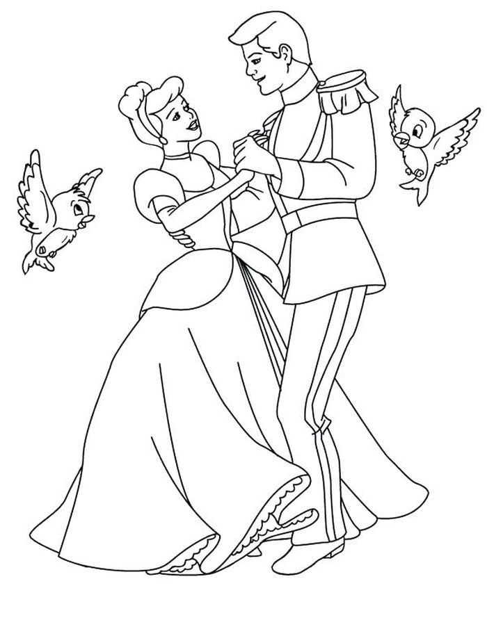 Cinderella Coloring Pages In 2020 Cinderella Coloring Pages