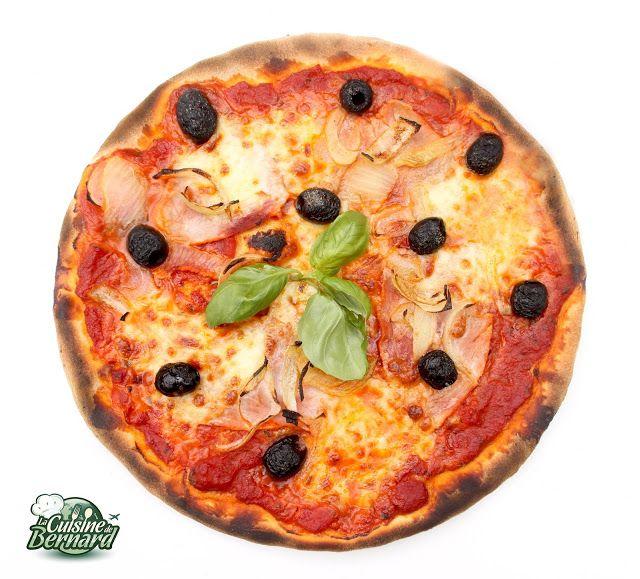 La Cuisine de Bernard : La Pizza Rapide Maison (sans poolish)
