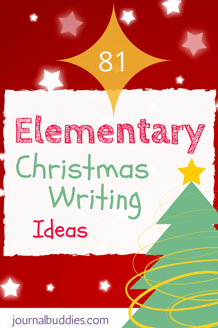 christmas writing prompts elementary Students read the prompts (that's the reading component of the activity), then choose the colors once the characters are ready, students should write about what.