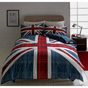 Buy Check Union Jack Multicoloured Bedding Set - Kingsize at Argos.co.uk, visit Argos.co.uk to shop online for Duvet cover sets