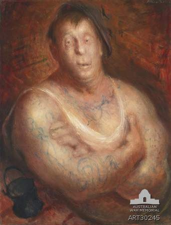 """William DOBELL  """"The Billy Boy""""  AWM Collection"""