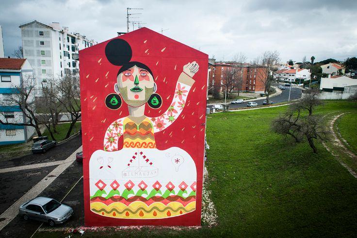 A galeria da Rua Fernando Palha, em Lisboa, acolhe até 28 de Fevereiro uma misturada de Portugal e Brasil com crenças, balões de São João, máscaras e pipas