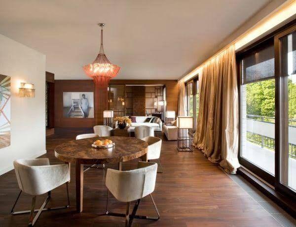 Backlit Valance Contemporary Living Room Design Charming Dining Room Home