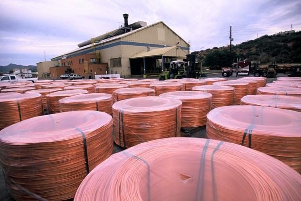 Copper prices rose by 0.53 per cent on Thursday at the domestic markets after National Association of Home Builders/Wells Fargo housing market index rose more than expected in April,