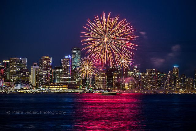 Canada Day Fireworks, Vancouver 2013 | Flickr - Photo Sharing!