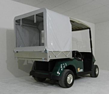 Golfette utilitaire occasion RXV fourgon bache | ORA Véhicules Électriques