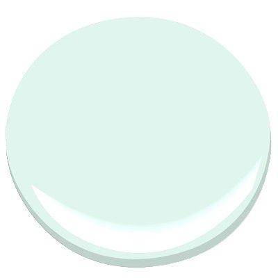 Benjamin Moore Irish Mint-nice, bluish minty green