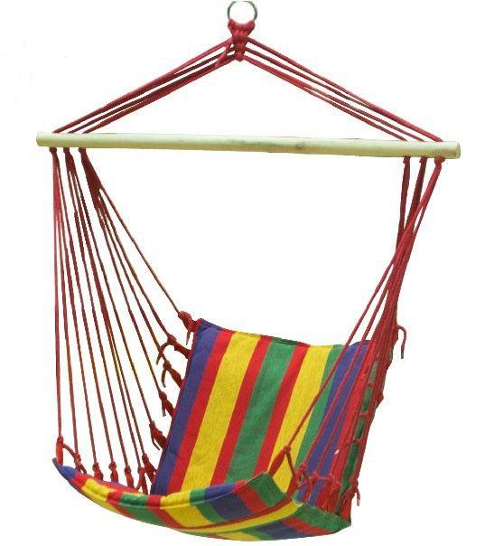 Для взрослых красочные свободного покроя висит стулья на открытом воздухе дети холст полосатый качалка высший сорт крытый патио качели бесплатная доставка купить на AliExpress
