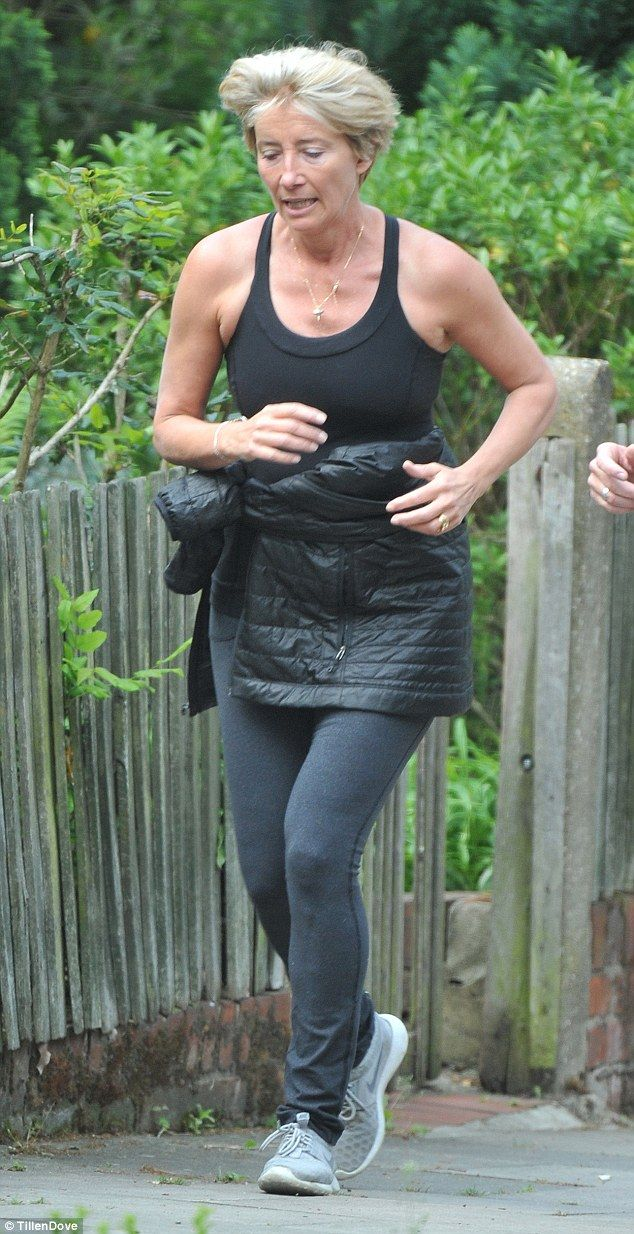 Downsizing: Emma Thompson, pictured last May, has dropped two dress sizes in six weeks...