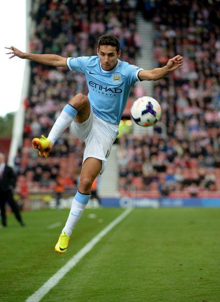~ Jesus Navas of Manchester City against Stoke City ~
