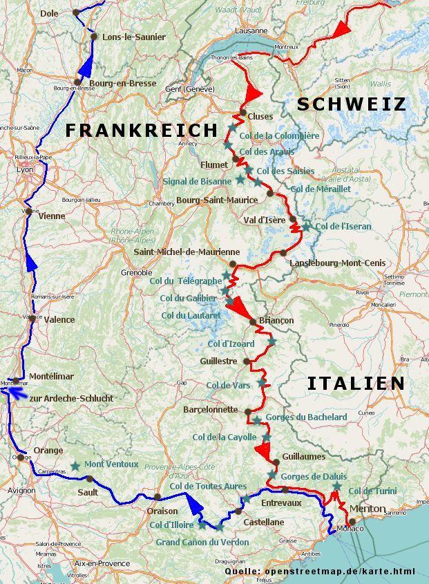 Stefans Seiten Route Des Grandes Alpes Route Des Grandes Alpes