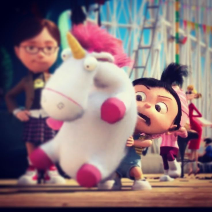 Best part of Despicable Me #sofluffy