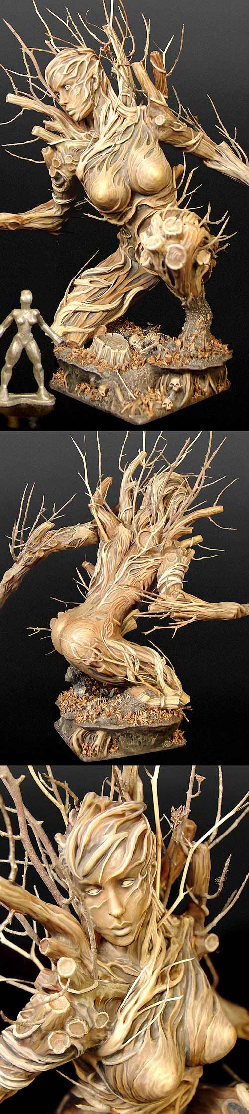 dryad : Exquisite ,Sensual , Incredibly Detailed want to Touch Art !