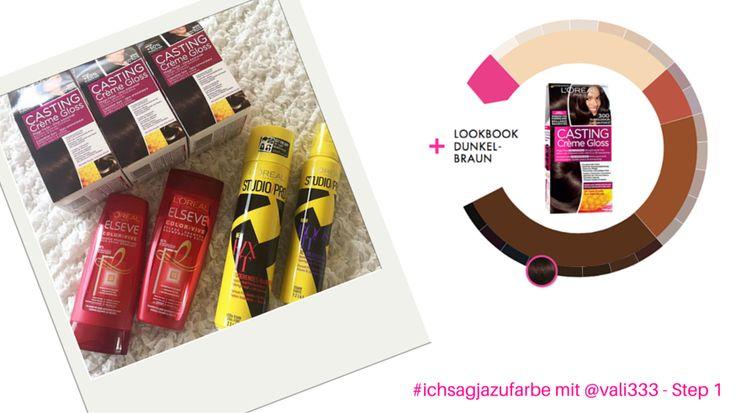 #ichsagjazufarbe: mit Casting Crème Gloss zu schönem Haar