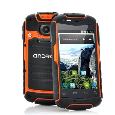 """Rugged Android Phone """"Enyo-N1"""" - 3.5 Inch Screen, Shockproof, Dust Proof, Water Resistant http://www.chinavasion.com/china/wholesale/Android_Phones/Normal_Screen_Android_Phones/Rugged_Android_Phone_Enyo-N1_-_3.5_Inch_Screen_Shockproof_Dust_Proof_Water_Resistant/"""