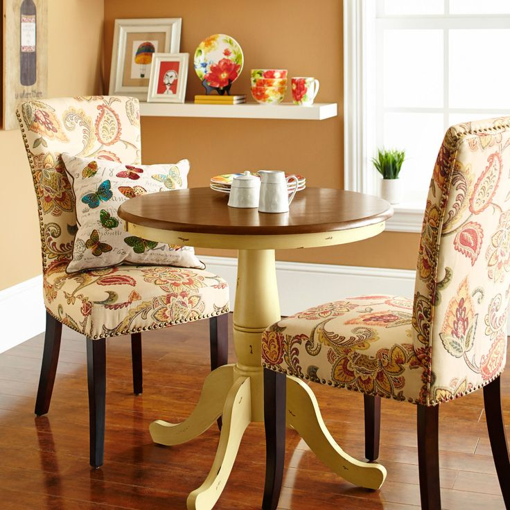 Keeran Bistro Table - My mission is to find a table and chair set just like this one for our tiny apartment!