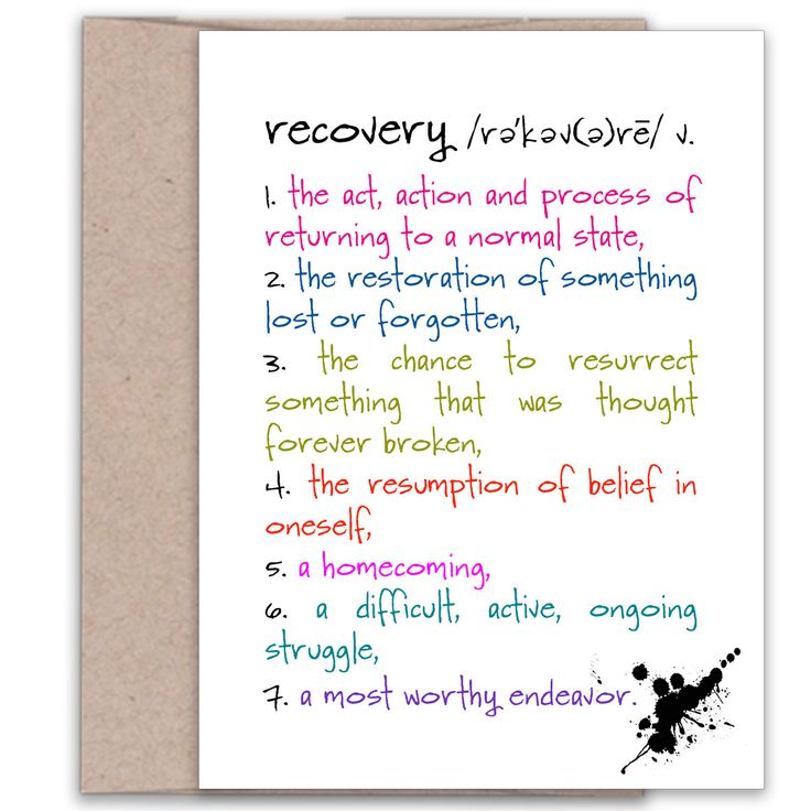 Recovery from Addiction | Addiction Recovery Card | Encouragement Card | Recovery from Abuse Card | Sobriety Encouragement Card for Friends by KatMariacaStudio on Etsy