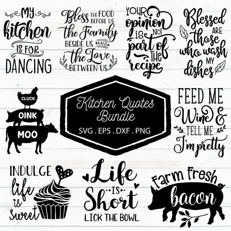 kitchen quotes bundle kitchen quotes rules quotes kitchen humor on kitchen quotes id=28891