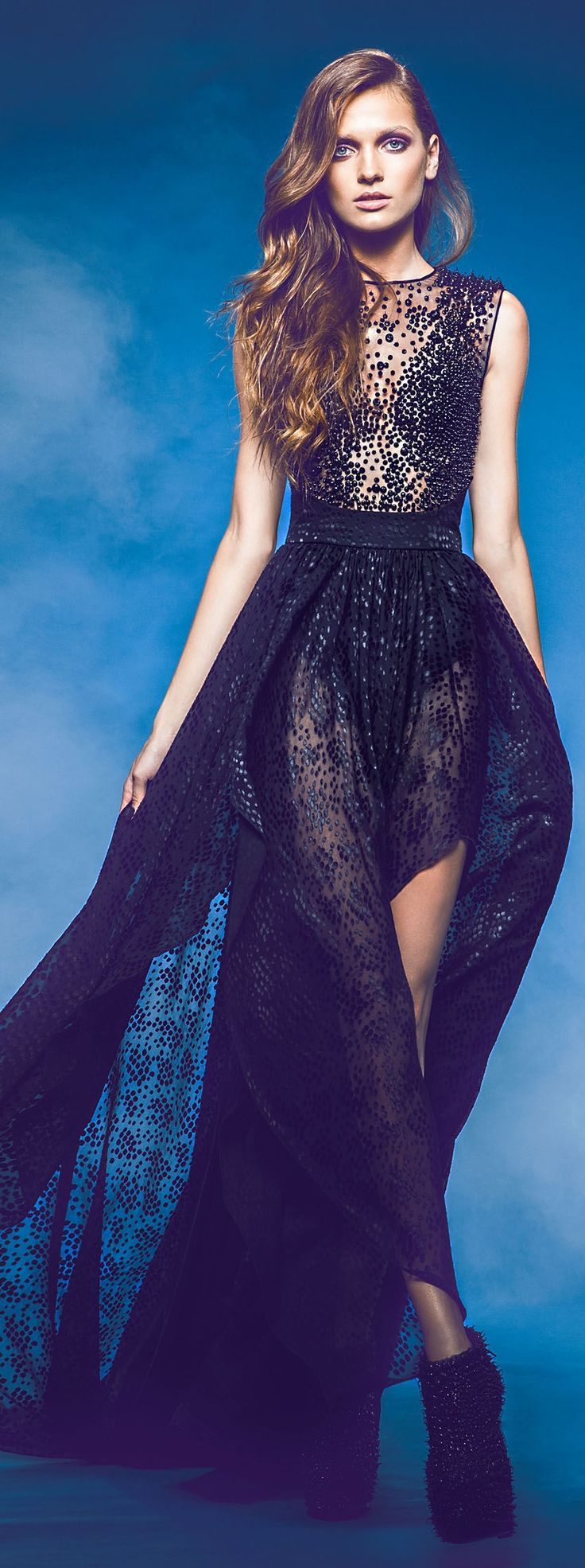 Jean Louis Sabaji Couture F/W 2013-2014                                                                                                                                                                                 Plus