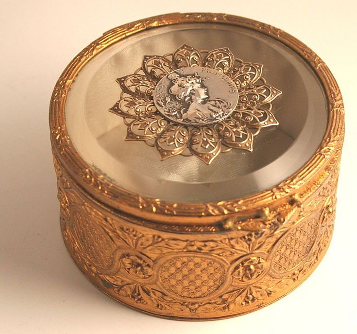 230 best Antique Jewelry Boxes images on Pinterest Antique boxes