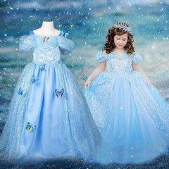 $29 for a Kids' Snow Queen Dress | DrGrab