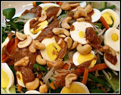 Onions and Paper: Gado Gado - an Indonesian salad