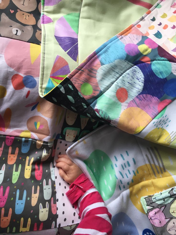 Make the warmest, coziest soft quilt with Fleece!