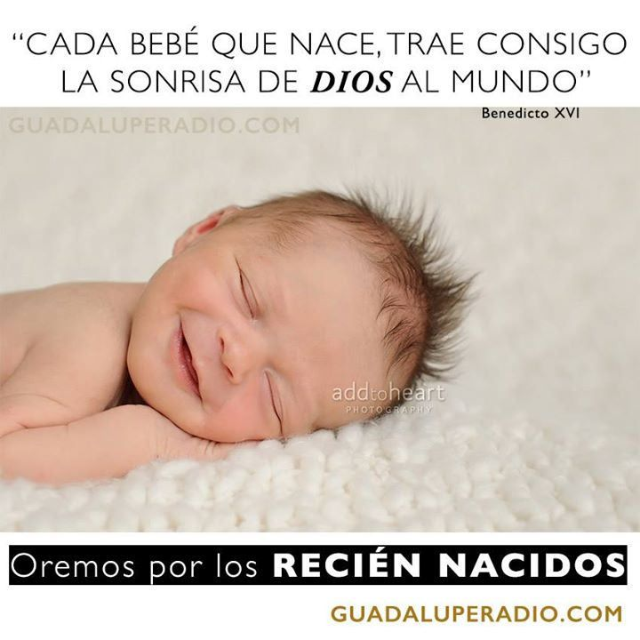 #Oremospor Hermanos, hoy nos unimos para orar por todos los bebés recién nacidos. Demos gracias a Dios por el Milagro de la Vida y festejemos el nacimiento de una nueva alma. Dios les bendiga a ellos sus padres. Bendiciones a todos. 10:30 AM (PST) Sintoni