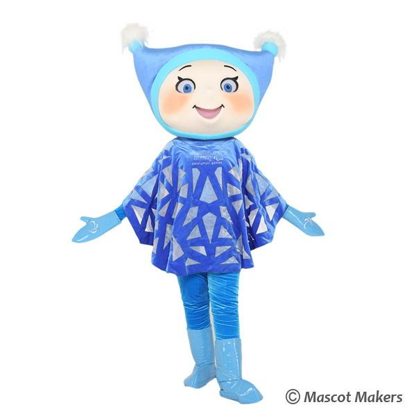 Mascot Makers | The Snowflake Paraolympic sochi 2014 mascot