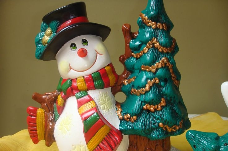 Muñeco de Nieve Adorno Navideño