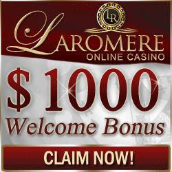 TODAY, Friday the 13th, get 100% bonus on your deposit at LaRomere!