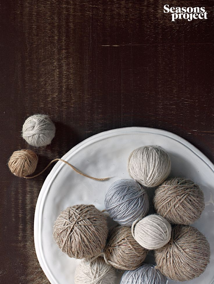 Seasons of life №6 / November-December issue #seasonsproject #seasons #mood #decor #nature #ball #thread