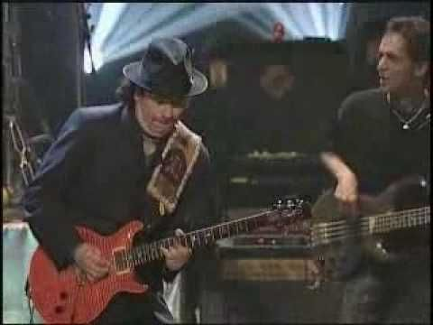 """Carlos Santana & Rob Thomas - """"Smooth""""--Carlos Santana, After Four Decades Long Successful Career, Finally Hit #1 and Grammy Gold With This Great Tune Performed With The Super Voice of Rob Thomas...What A Tune...""""Smooth,"""" Indeed!!"""