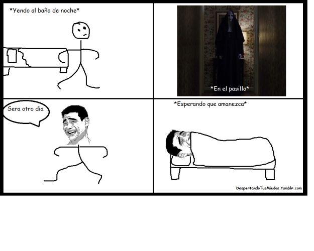 Y si antes le tenías miedo a los pasillos de tu casa durante la medianoche, ahora ni se diga. | 14 Memes sobre 'El Conjuro 2' que te harán morir de la risa y luego de miedo