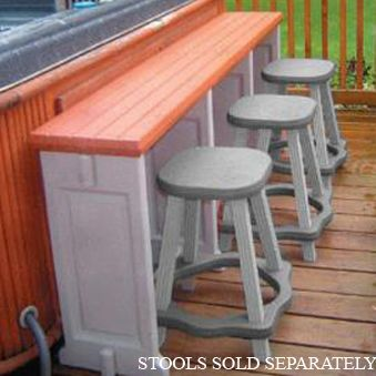 Resin Patio Furniture Hot Tub Bar And Patio Bar On Pinterest