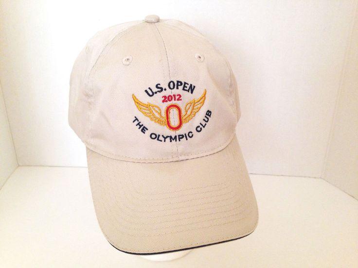 US Open 2012 The Olympic Club USGA Golf Adjustable Strap Baseball Hat Cap #USGA #BaseballCap