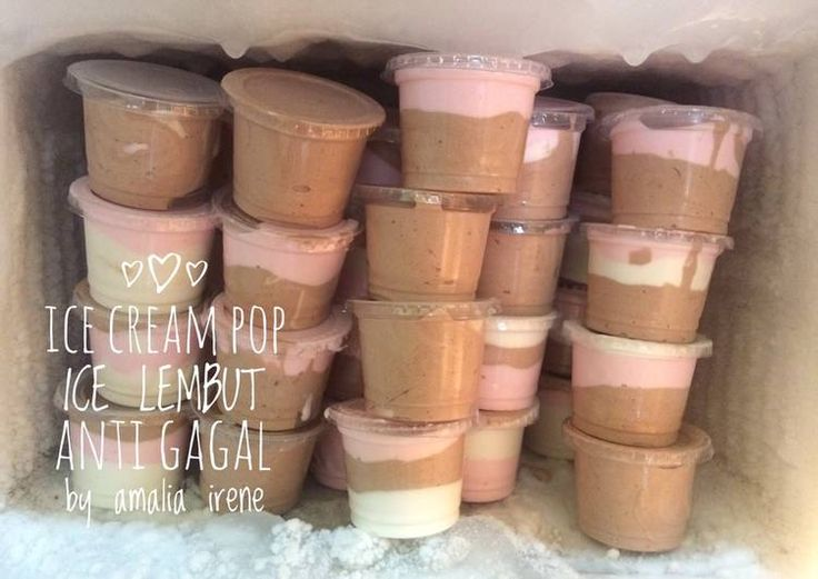 Ice cream pop ice lembut homemade anti gagal