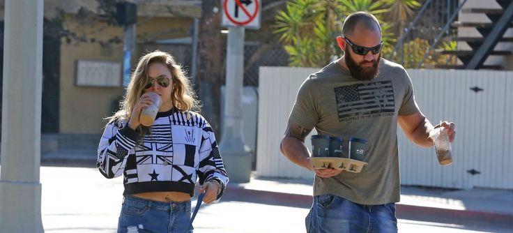 Ronda Rousey's boyfriend Travis Browne's estranged wife warns the UFC fighter amid engagement rumors