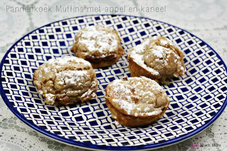 Een lekker gezellig zondags ontbijtje deze pannenkoek muffins met appel en kaneel. En je zet ze zo op tafel!