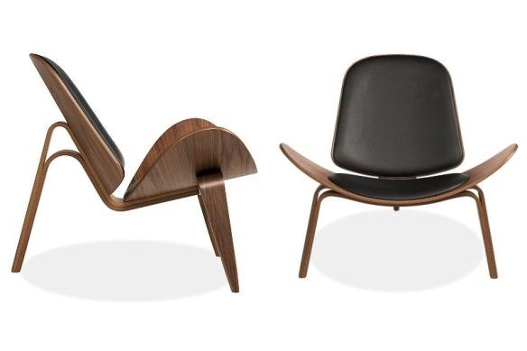 Shell Chair, by Hans J. Wegner for Carl Hansen & Son, 1963.