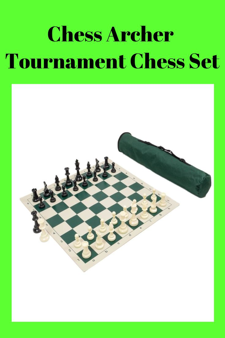 Board Triple Weighted Quiver Chess Set Combination Navy Bag