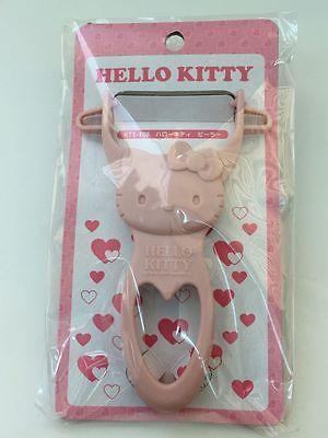 Hello Kitty kawaii Anything Peeler Pink from Daiso JAPAN