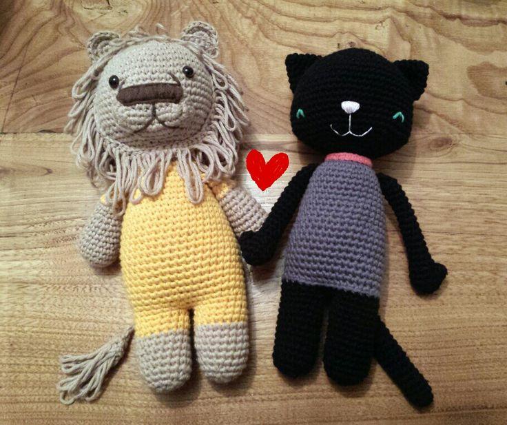 Amores felinos. .. Jano y Caty