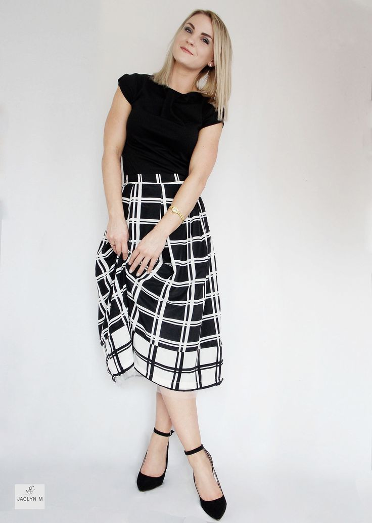 JACLYN M- Sophie top_ trixie check skirt