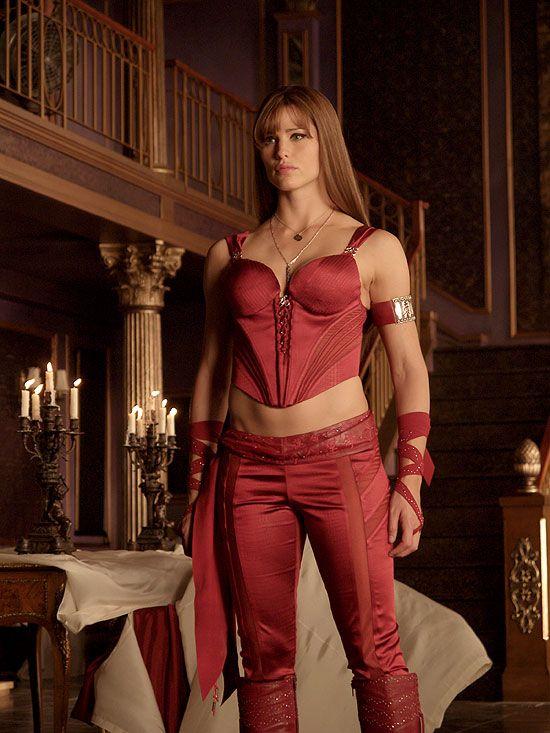 "Jennifer Garner as Elektra, in the movie, ""Elektra."""