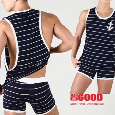 NUGOOD Men Fashion Sleeveless 5 Style